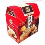 Folding Gift Box for Food Packaging with Matte Lamination