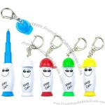 Folding Retractable Ballpoint Pen Cartoon Man