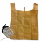 Folding T-Shirt Bag Made of 210T Polyester