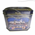 Food Storage Tin Box