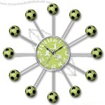 Football Quartz Wall Clock