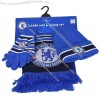 Football Scarf Set Blue