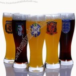 Football Team Emblem Beer Cup for Club or World Cup National Team
