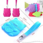 Fortune Cat Silicone Coin Purse Wallet