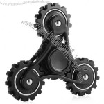 Four Gear Linkage Hand Fidget Spinner Zinc Alloy Stress Relief Toy
