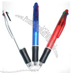 Four-in-one color Ballpoint pen.