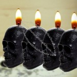 Fragranced Skull Candles