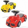 Free Wheel Baby Ride-on Walker Car with Music Light