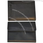 French Purse Wallet in Black