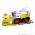 Friction Farm Tractor Set, Non-Toxic Plastic And High Quality
