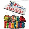 Fridge Magnets - Perfect 3D Effect Especial your Brand