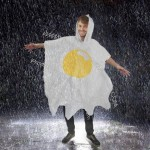 Fried Egg Poncho