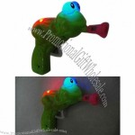 Frog Bubble Gun with Light and Music