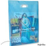 Frosted Die Cut Handle Bag - Large
