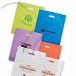 Frosted Die Cut Plastic bags 9x12