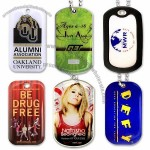 Full Color Dog Tags - Stainless Steel or Aluminum Base
