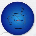 "Full Color Round Rubber Coaster 1/4"" Thick"