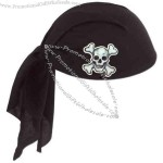 Full head size pirate scarf hat.