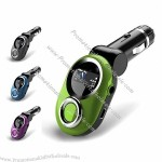 Functional Car MP3 Player / FM Transmitter with Remote Wireless Control