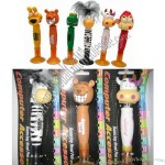 Funny Animal Bouncing Head Ballpen