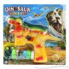 Funny Dinosaur Bubble Gun With Light And Music