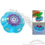 Funny Electronic Muisc Peg-Top Top Children Toy with Color Flash Light