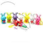 Funny Handbag Charm Easter Bunny Stretchy Ball point Pen Easter Gift Giveaways