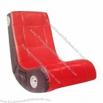 Gaming Chair, Made of PU Leather Material