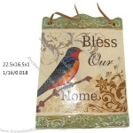 Garden Decoration Ceramic Wall Plaque