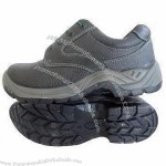 Genuine Leather Safety Shoes with PU Outsole, Comes in 39 to 47# Sizes