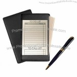 Genuine Leather Standard Note Jotter