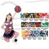 Getz Cheerleaders 2 Color Mix Pom Pom Balls