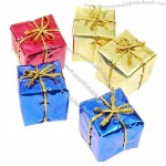 Gift-Box Style Christmas Tree Hanging Ornaments
