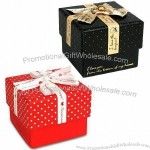 Gift Box With Ribbon, Ideal For Small Jewelry