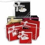 Gift Box with Satin Cloth Protection