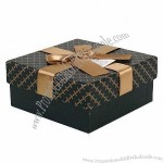 Gift Boxes with Gold Ribbon