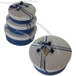 Gift Boxes with Silk Band