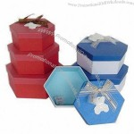 Gift Boxes with Silk Band and 1.8mm Cardboard Thickness