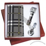 Gift Set Wallet,Watch,Keychain