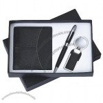 Gift Set with Wallet, Ball Pen Keychain
