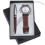 Gift Set With Watch, Bal Pen