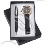 Gift Set With Watch, Ball Pen(2)