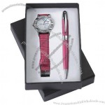 Gift Set With Watch, Ball Pen(3)