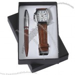 Gift Set With Watch, Ball Pen(5)