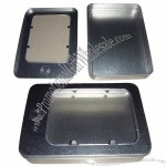 Gift Tin with 4-color Printing, with Transparent Window