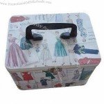 Gift Tin with Handl 190 x 115 x 112mm