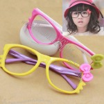 Girl Glasses with Bowknot