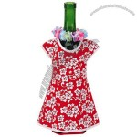 Girl Wine Bottle Jacket, Red