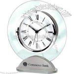 glass desk alarm clock