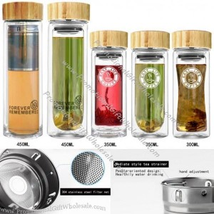 buy glass fruit infuser water bottle bpa free with bamboo lid online wholesale price 3874003800. Black Bedroom Furniture Sets. Home Design Ideas
